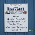 Welcome to Sierra Heavy Duty